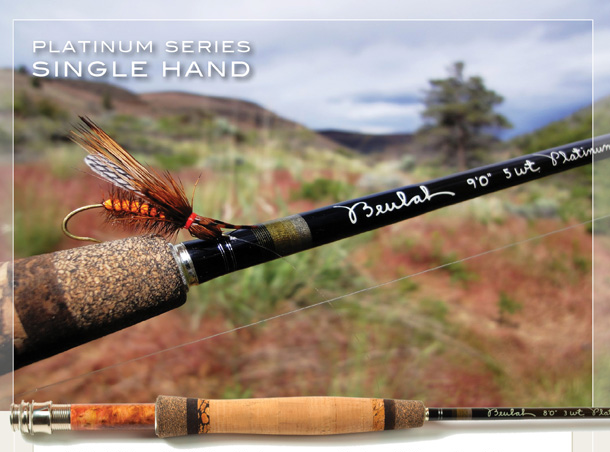 Beulah Single Hand Platinum Fishing Rods