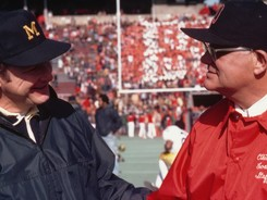 ohio-state-university-football-coach-hayes-and-coach-schembechler-at-big-game-o-f-x-00009md_medium