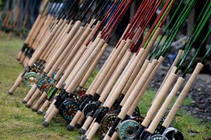 Literally hundreds of rods from all the manufactures were available to take for a test drive.